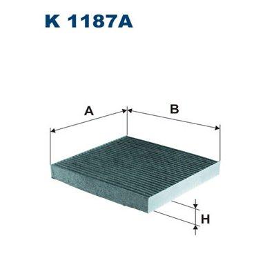 FILTR POWIETRZA KABINOWY HONDA ACCORD VIII 03-