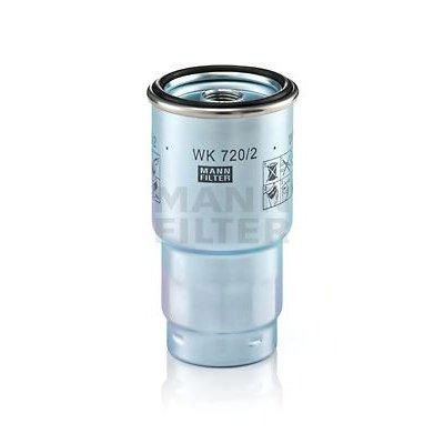 Filtr paliwa MANN-FILTER WK720/2X WK7202X