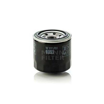 Filtr oleju MANN-FILTER W811/80 W81180