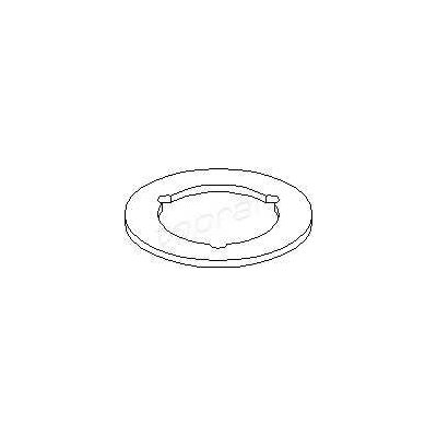 Uszczelka korka wlewu oleju/aud TOPRAN 109 096 06A103483D