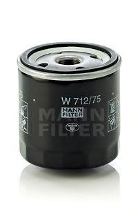 Filtr oleju MANN-FILTER W712/75 W71275