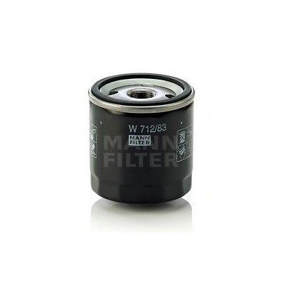 Filtr oleju MANN-FILTER W712/83 W71283