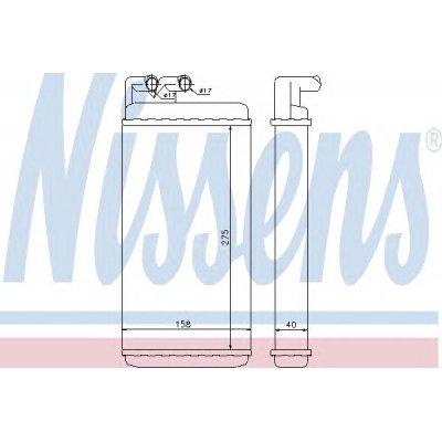 Nagrzewnica NISSENS 70220 443819030