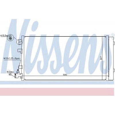 Chłodnica klimatyzacji NISSENS 940160 921100001R