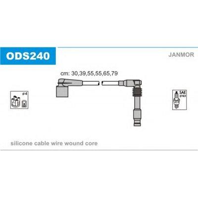 PRZEWODY ZAPŁONOWE OPEL OMEGA B 2.5 V6 3.0 V6