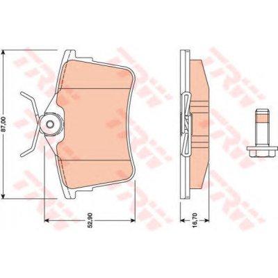 LINKA SPRZ.VW CADDY SEAT INCA 95- CORDBA IBIZA BEZ SAMOREGUL