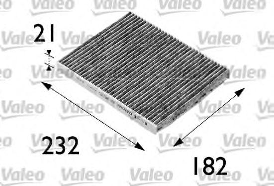 Filtr kabinowy węglowy VALEO 698692 CU2422