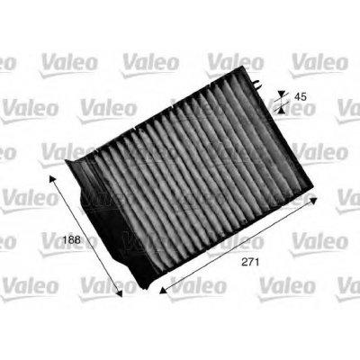 Filtr kabinowy z węglem aktywnym VALEO 715539 CU2316