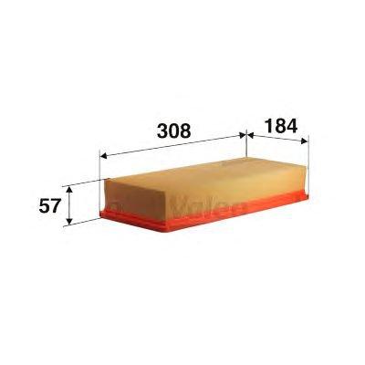 Filtr powietrza VALEO 585044 C311521