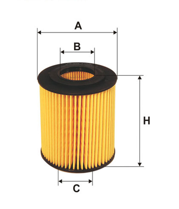 Filtr oleju FILTRON OE649/6 HU8152X