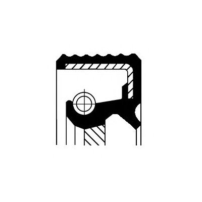 HUMMER H1 6.5D Crankshaft Oil Seal Transmission End 1992 on Corteco Quality New