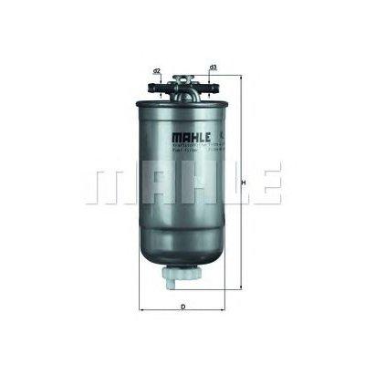 Filtr paliwa KNECHT KL147D WK8533X
