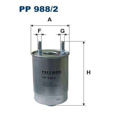 Filtr paliwa FILTRON PP988/2 WK9012X