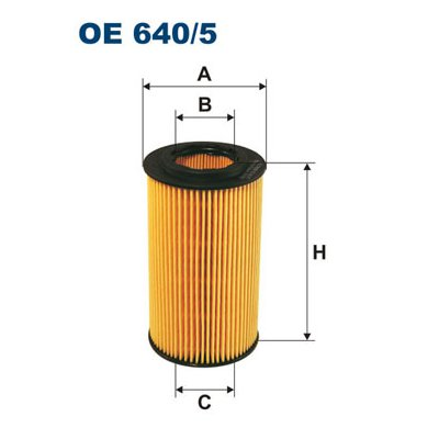 Filtr oleju FILTRON OE640/5 HU7181K