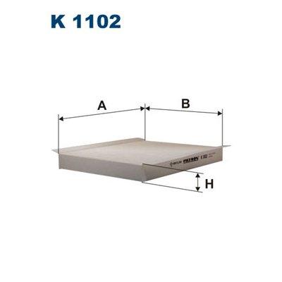 Filtr kabinowy FILTRON K1102 CU2680