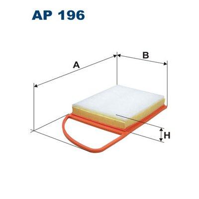 Filtr powietrza FILTRON AP196 C3585