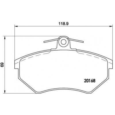 ZESTAW BLOKAD FIAT 1.2/1.4 16V