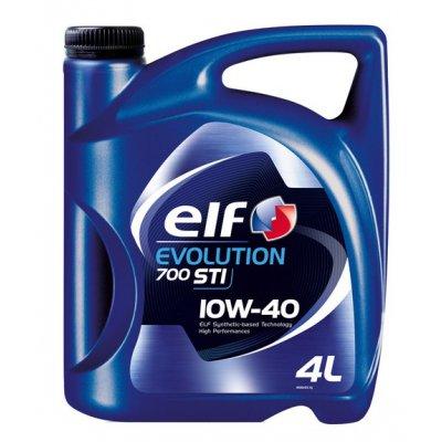 OLEJ 10W-40 ELF EVOLUTION 700 STI 4L