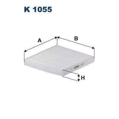 Filtr kabinowy FILTRON K1055 CU2757