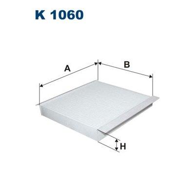 Filtr kabinowy FILTRON K1060 CU2345