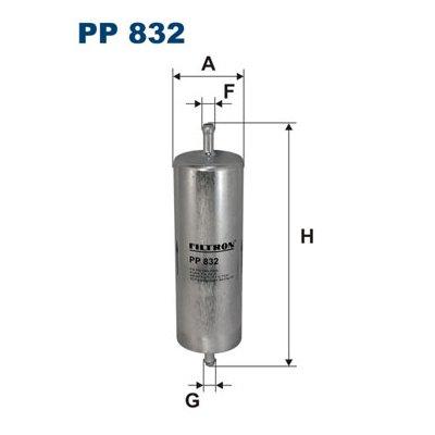 Filtr paliwa FILTRON PP832 WK516