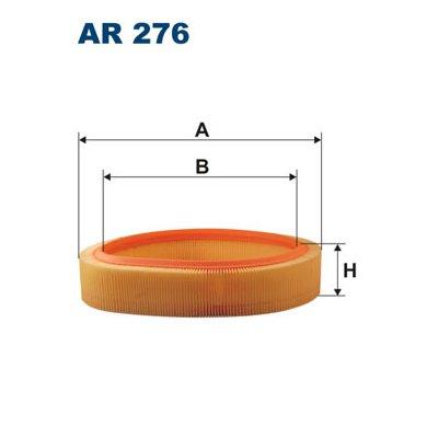 Filtr powietrza FILTRON AR276 C2766