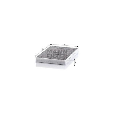 Filtr kabinowy MANN-FILTER CUK3037
