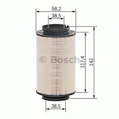 Filtr paliwa BOSCH 1457070007 PU9362X