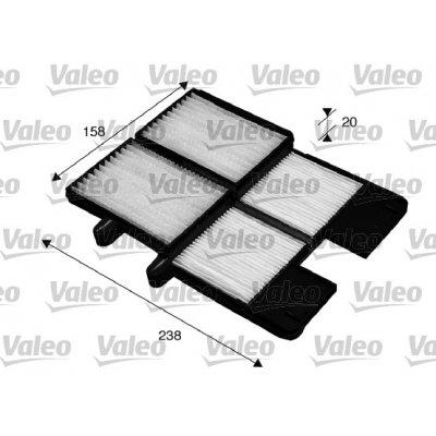 Filtr kabinowy VALEO 715572 CU210012