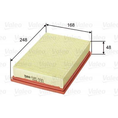 Filtr powietrza VALEO 585090 C251011