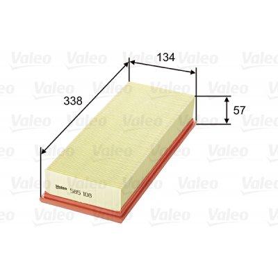 Filtr powietrza VALEO 585108 C34109