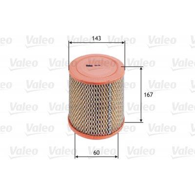 Filtr powietrza VALEO 585726 WA9501