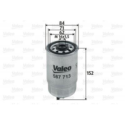 Filtr paliwa VALEO 587713 WK8546