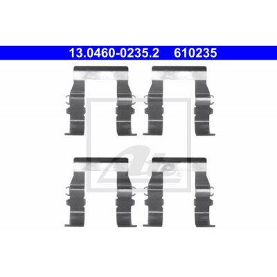 Zestaw montażowy klocków hamulcowych ATE 13.0460-0235 MR389599