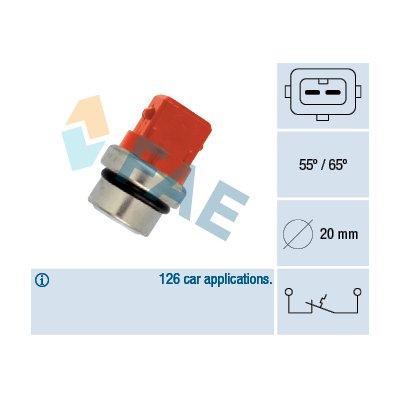 Czujnik temperatury wody FAE 35320 251919369B