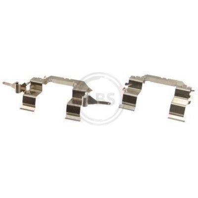 Zestaw montażowy klocków hamulcowych A.B.S. 1722Q 4100963000