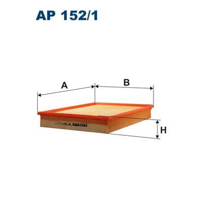 Filtr powietrza FILTRON AP152/1 C33189
