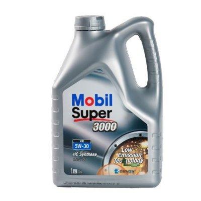 5 Litre Bottle ENGINE OIL MOBIL 1 SUPER 3000 XE - 5 W 30 - 5W30