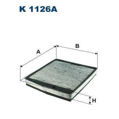 Filtr kabinowy FILTRON K1126A CU2855