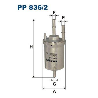 Filtr paliwa FILTRON PP836/2 WK69