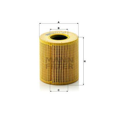 Filtr oleju MANN-FILTER HU711/51X HU71151X