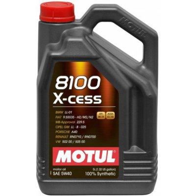 OIL 5W-40 8100 X-CESS MOTUL 5L