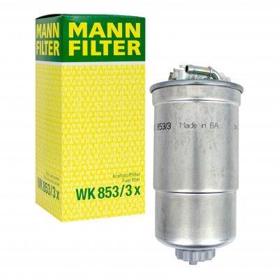 Filtr paliwa MANN-FILTER WK853/3X WK8533X