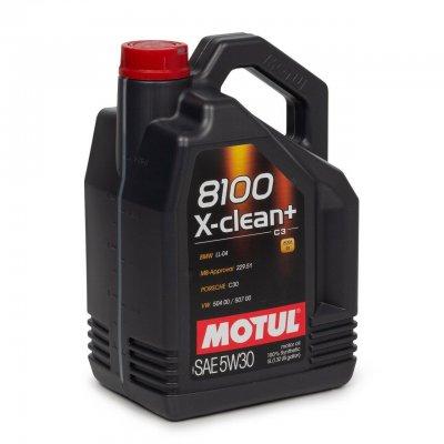 OLEJ 5W-30 8100 X-CLEAN+ MOTUL 5L