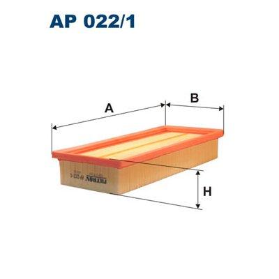Filtr powietrza FILTRON AP022/1 C2872