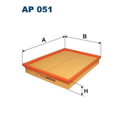 Filtr powietrza FILTRON AP051 C30130