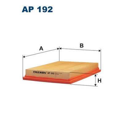 Filtr powietrza FILTRON AP192 C2244