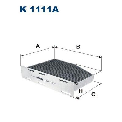 Filtr kabinowy FILTRON K1111A CU2939