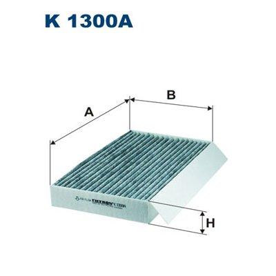 Filtr kabinowy FILTRON K1300A