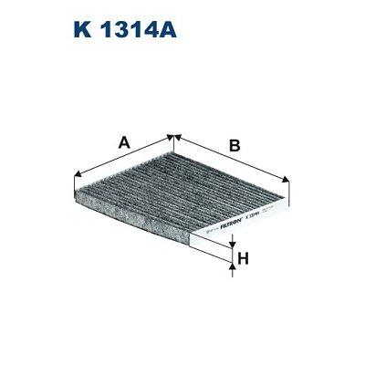 Filtr Kabinowy FILTRON K1314A CUK24013